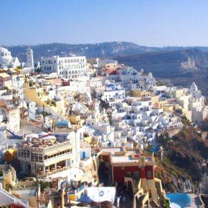 2 étapes en Crète et Santorin