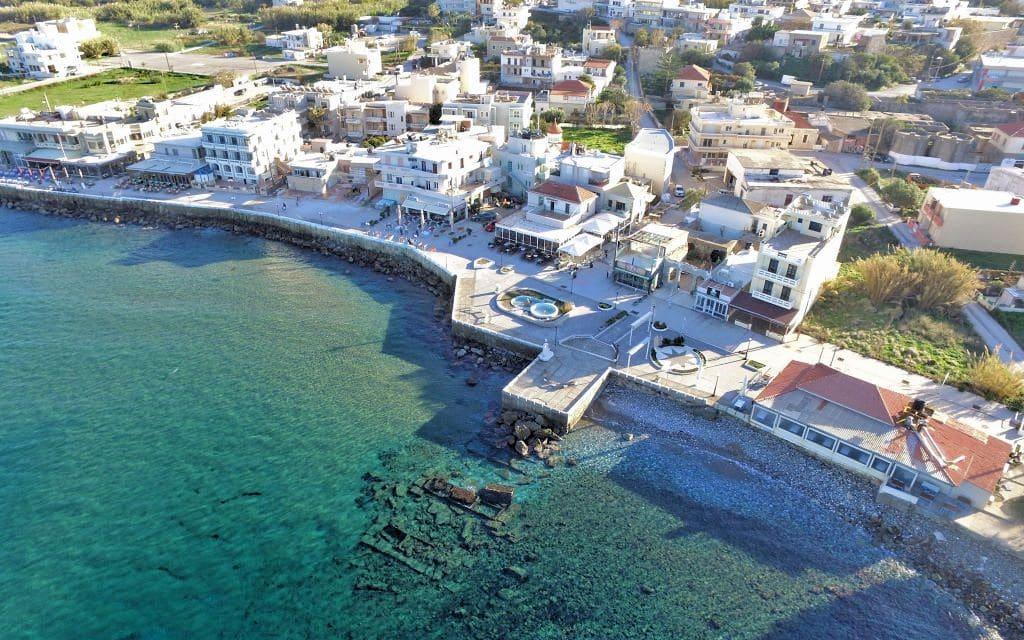 Séjour en Crète : Kissamos la marina en front de mer