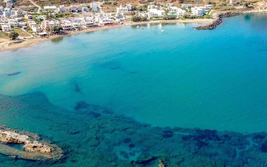 Séjour en Crète : Kissamos plage de Mavros Molos