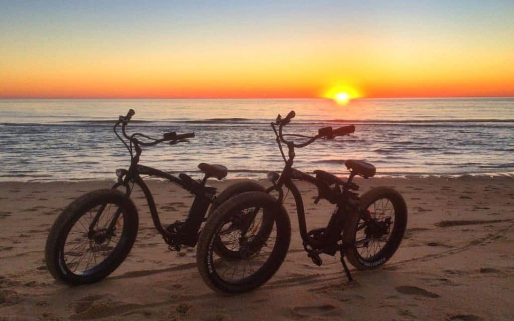 E bike Beach Cruiser Kissamos