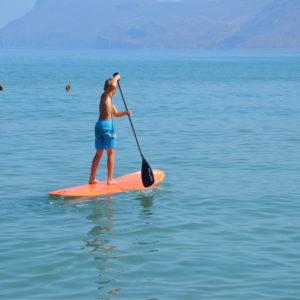 Stand Up Paddle  Sup et Big Sup à Kissamos Crète de l'Ouest.